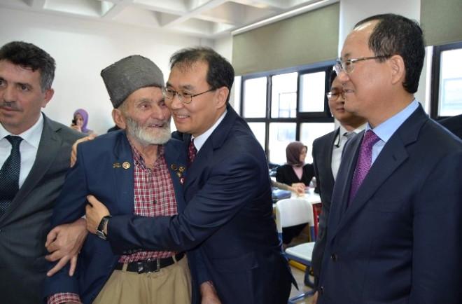 Güney Kore Cumhuriyeti'nin Ankara Büyükelçisi Yunsoo Trabzon'da