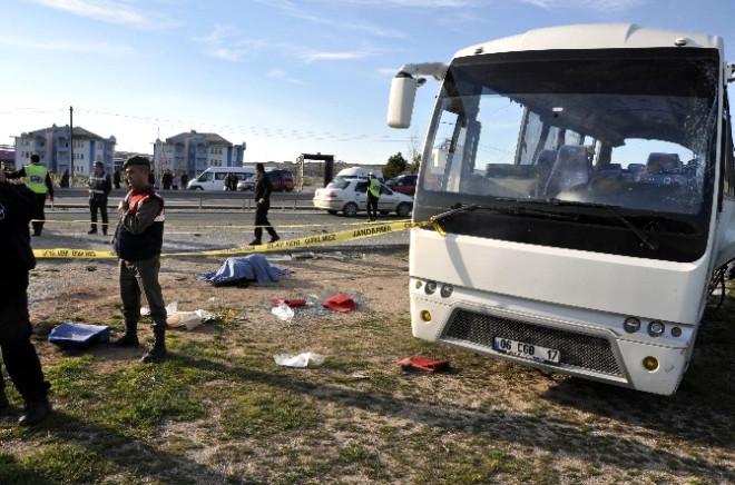 Kırıkkale'de Trafik Kazası; 1 Ölü, 10 Yaralı