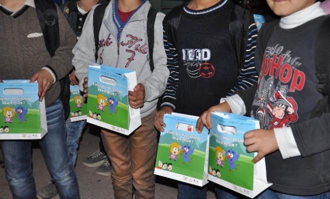 Mardin'de Çocuklara Kahvaltının Önemi Anlatıldı