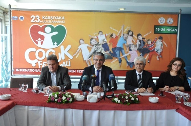 Uluslararası Çocuk Şenliğinde Çocuklar İzmir'de Buluşacak