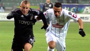 Kasımpaşa: 1 - Beşiktaş: 2 (İlk Yarı)