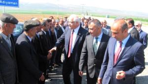 Milletvekili Erdoğan Araban'da Kurban Kesilerek Karşılandı