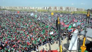 Diyarbakır'da 'Eşsiz Önder Hazreti Muhammed' Mitingi