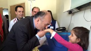Sağlık Bakanı Müezzinoğlu Orhaneli'de İncelemelerde Bulundu