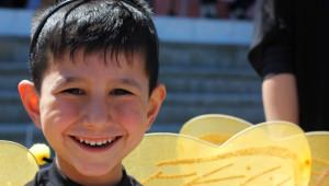 Omü'lü Öğrencilerden Miniklere Bahar Şenliği Sürprizi