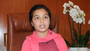 Fatma Şahin, Koltuğunu Minik Sude'ye Verdi