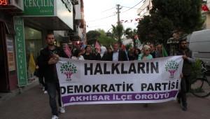 Hdp Akhisar'da Milletvekili Adaylarını Tanıttı