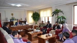 Öğrencilerden Başkan Gürsoy'a Ziyaret