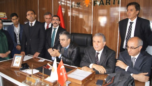 AK Parti Kars Milletvekili Adayları Kağızman'da