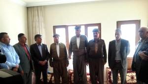 Talabani ve Barzani'nin Başsağlığı Mesajını Getirdiler