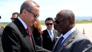 Cumhurbaşkanı Erdoğan Liderleri Karşıladı