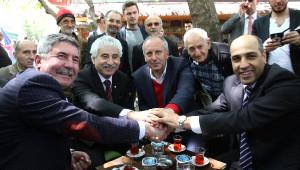 CHP'li İnce, Başbakan'ı ve Cumhurbaşkanı'nı Eleştirdi