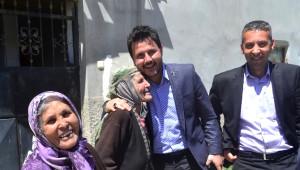 AK Parti Milletvekili Adayı Kaya, Halkapınar'da
