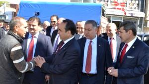 AK Parti Milletvekilleri Sinanpaşa ve İscehisar İlçelerini Ziyaret Etti