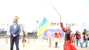 Atlı Okçuluk ve Savaş Sanatları Festivali'nde Renkli Görüntüler