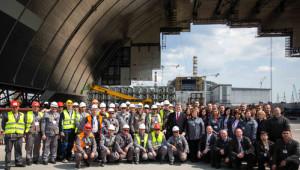 Ukrayna Cumhurbaşkanı Poroşenko, Çernobil'de Çalışan Türklere Teşekkür Etti
