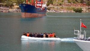 Kaçakçılara Operasyon Sahil Güvenlik Kamerasında