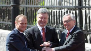 Kiev'de Ukrayna-Ab Zirvesi Yapıldı