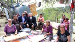 MHP'li Yılmaz'a, Karaisalı'nın Köylerinden Destek