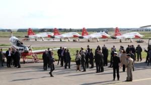 NATO Genel Sekreteri Stoltenberg'ten Hava Kuvvetleri'ne Ziyaret