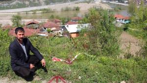 40 Yıl Önce Heyelan Nedeniyle Nakledilen Köye Yine Nakil Tebligatı