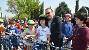 461 Öğrenci Daha Bisikletine Kavuştu