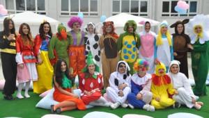 Kız Meslek Lisesi'nde Rengarenk Şenlik