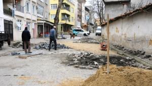 Süleymanpaşa'da Yol Yapım Çalışmaları Devam Ediyor