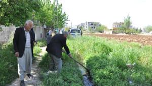 Adıyaman'da Vatandaşlardan Kanalizasyon Eylemi