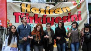 Giresun'da 1 Mayıs Kutlamasında Add Alanı Terk Etti