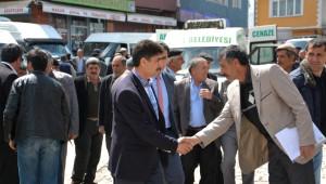 AK Parti Ardahan Milletvekili Adayları Göle'de Partililerle Buluştu