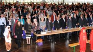 Nürnberg'de Geç Ama Görkemli 23 Nisan Kutlaması