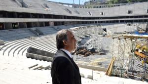 11. Cumhurbaşkanı Abdullah Gül, Vodafone Arena'yı Ziyaret Etti