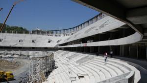 Abdullah Gül'den Beşiktaş'ın Yeni Stadına Sürpriz Ziyaret