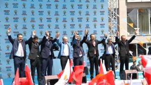Başbakan Davutoğlu Ardahan'da Halka Seslendi