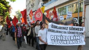Eskişehir'de 200 Kişi 'Denizler' İçin Yürüdü