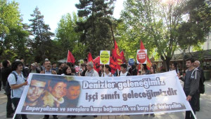 Kayseri'de Deniz Gezmiş ve Arkadaşları Anıldı