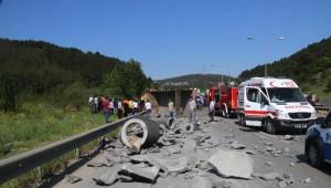 Şile Yolunda Kaza: 5 Yaralı