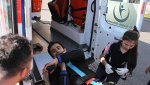 Kaza Yaptı, Ambulansa Alınırken Bile Motorunu Düşündü