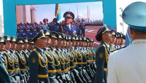 Kazakistan'da Büyük Zafer'in 70. Yılı Kutlanıyor