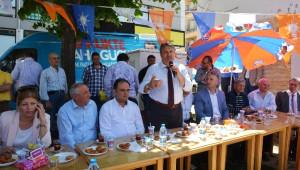 Başkan Çerçi'ye Akmescit'te Yoğun İlgi