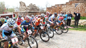Ahlat'ta Dağ Bisikleti Yarışlarının 2'nci Günü