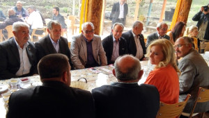 MHP Ankara 1. Bölge Milletvekili Adayı Ersoy, Elmadağlılarla Buluştu