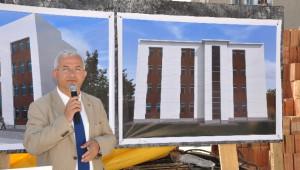 Torbalı'da Sgk Binasının Temeli Dualarla Atıldı