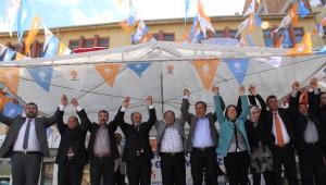 AK Parti'den İskilip ve Uğurludağ'da Miting