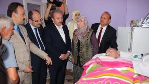 AK Parti Genel Başkan Yardımcısı Mustafa Şentop'tan, Fedakar Anneye Anlamlı Ziyaret