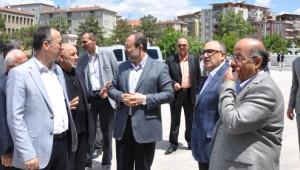 Görmez, Erdoğan'ın Açacağı Nur Camii'ni İnceledi