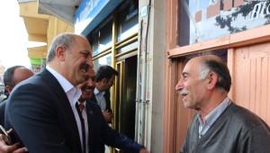 Abdullah Atalay'dan Hdp ve MHP Bürolarına Ziyaret
