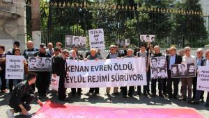 Beyoğlu'nda Kenan Evren Protestosu