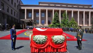 Genelkurmay Başkanlığı, Evren İçin Düzenlenen Törenin Fotoğraflarını Paylaştı